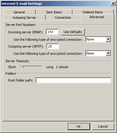 Outlook 2010 authenticated smtp server default smtp port 25 setup - Smtp and pop3 port number ...