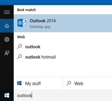 Outlook 2016 authenticated SMTP server with alternative SMTP