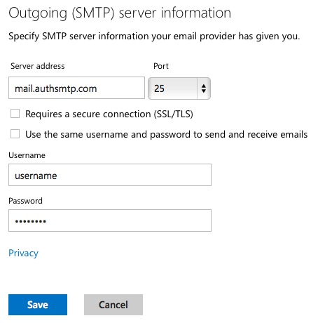 how to change from a fb hotmail to outlook